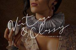 Paulina Elegance Script Font Product Image 6