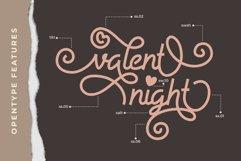 Allysia - a monoline script font Product Image 2
