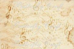 Music notes scrapbook paper, Vintage music digital paper Product Image 6
