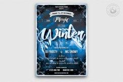 Winter Season Flyer Template V1 Product Image 1