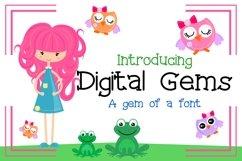 Digital Gems Font Product Image 1
