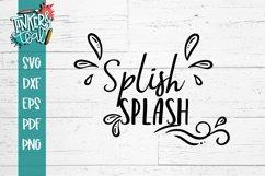 Splish Splash SVG Product Image 1