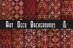 Gold Art Deco Backgrounds Product Image 1
