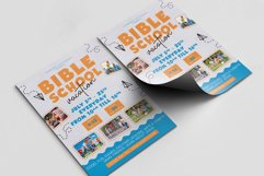 Bible Vacation School A4 Flyer PSD Template Product Image 2
