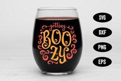 Halloween SVG, Boozy SVG, Ghost SVG, Halloween Drinking SVG Product Image 1