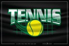 Tennis, Tennis ball, Team logo, Tennis SVG, Tennis Ball SVG Product Image 1