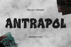 Web Font Antrapol Font Product Image 1
