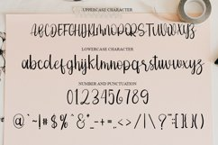 History - Romantic Calligraphy Font Product Image 5