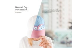 Baseball Cap Mockups Set Product Image 1