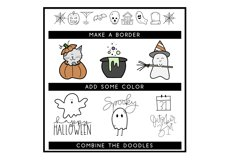 Creep It Real - A Spooky Halloween Doodles Font Product Image 3