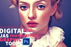 Digital Painting Effect Pro | Photoshop Actions Product Image 2