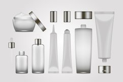 Vector realistic bottles set collection mockup pt.3 Product Image 6