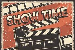 Retro Cinema Movie TV Show Poster Product Image 5