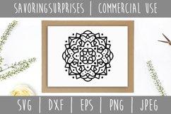 Mandala SVG, DXF, EPS, PNG JPEG Product Image 3