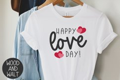 Happy Love Day SVG   Valentine's Day Cut File Product Image 2