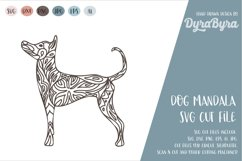 Dog Mandala SVG / Dog SVG / Zentangle SVG / Boho SVG Product Image 2