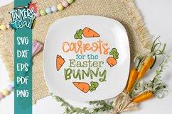 Carrots Plate SVG / Easter SVG / Easter Plate SVG / Cut file Product Image 1