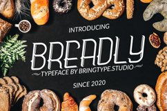 Breadly Typeface Font Product Image 1