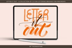 Letter it out, lettering procreate brushes bundle Product Image 1