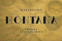 Web Font Montana Font Product Image 1