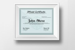 Diploma Certificate Template Product Image 1