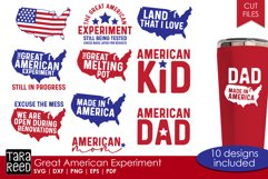 Great American Experiment - Patriotic SVG and Cut Files Product Image 1