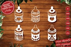 Papercut Cute Baby Feeders with Decorations Set Product Image 1