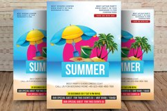 Summer House Party Flyer Product Image 1