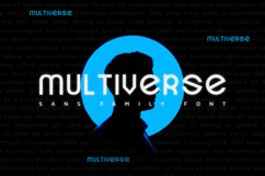Multiverse Font Product Image 1