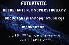 Futuristic Font Product Image 2