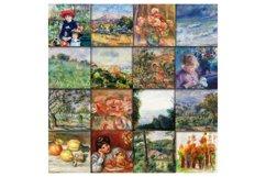 Renoir Paintings Digital Papers Product Image 2