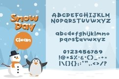Web Font Snow Day Display Product Image 6