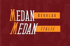 Medan Slab Condensed Slab Serif Font Webfont Product Image 2