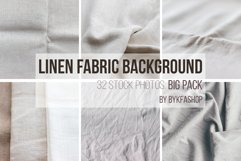 Natural linen fabric background texture Bundle Product Image 2