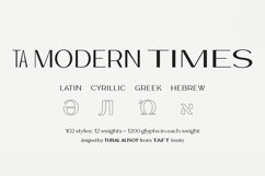 TA Modern Times NEW Product Image 1