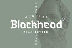 Blackhead Typeface | Font Product Image 1