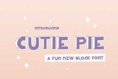 Cutie Pie Font Product Image 1
