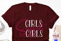 Girls Support Girls - Women Empowerment EPS SVG DXF PNG Product Image 4