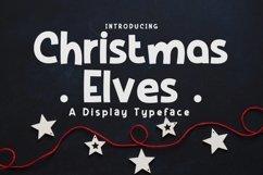 Web Font Christmas Elves Product Image 1