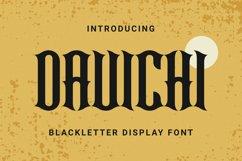 DAVICHI Font Product Image 1