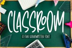 Classroom - Fun Handwritten Font Product Image 1