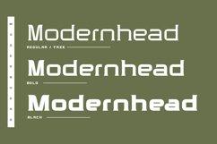 Modernhead Serif Typeface | Font Product Image 2