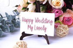 Angglea Wedding - Unique Handwritten Font Product Image 6