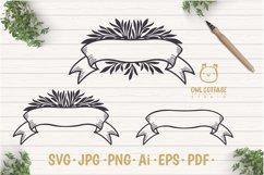 Laurel Leaves SVG Bundle, Floral Decor Bundle, Wedding Decor Product Image 6