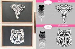 MEGA 3D SVG Bundle with 78 SVG Designs Product Image 6