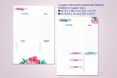 Undated daily planner's sheets. Printable pages A5 Product Image 3