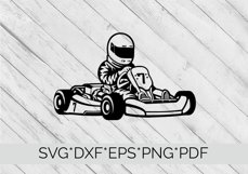 Go Karting SVG Cutting File  Product Image 3