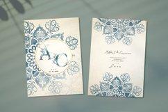 Floral Watercolor & Gold Mandala Product Image 3