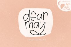 Dear May - A Fun Font with Doodles! Product Image 1