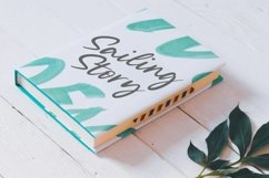 Silent Landfield is a Modern Calligraphy Font Product Image 4